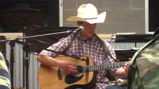 Hooked on a 8 second ride, chris ledoux cover. my first time in front of a crowd