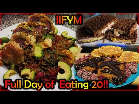 FulldayofEats ep.20 | Grilled Cheese, Snack & Delicious Dinner | Again a good IIFYM |