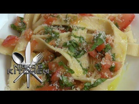HOW TO MAKE FRESH PASTA - Nicko\'s Kitchen - YouTube