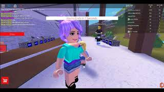 Roblox the floor is lava gameplay