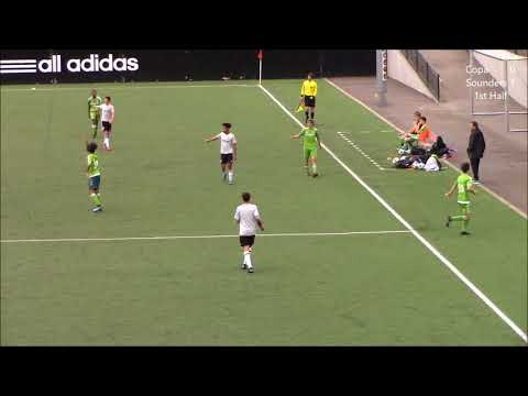 Seattle United B03 Copa v. Sounders Academy U15 4-20-18