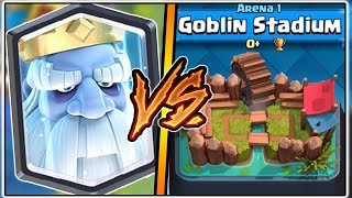 ROYAL GHOST TROLLING ARENA 1 IN CLASH ROYALE | FUNNY MOMENTS & ROYAL GHOST GAMEPLAY!