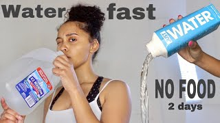 no food for 2 days? | water fast with unexpected results
