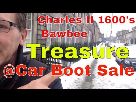 Scottish 1600's Charles II Car Boot Sale Treasure and more.
