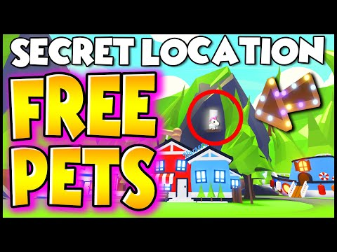 This Secret Location Gets You Free Legendary Pets In Adopt Me Legit Working 2020 Prezley Youtube