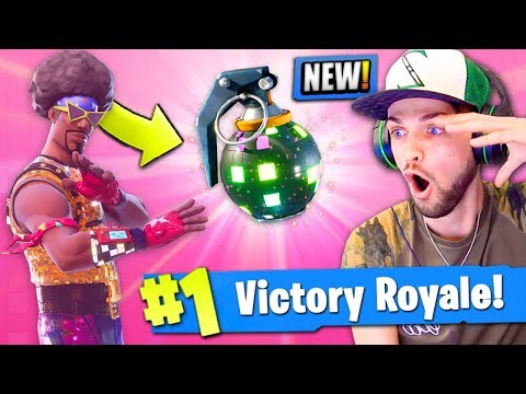 *NEW* BOOGIE BOMB in Fortnite: Battle Royale! HILARIOUS