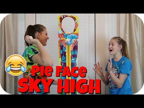 PIE FACE CHALLENGE || FUNNY VIDEO || Taylor and Vanessa