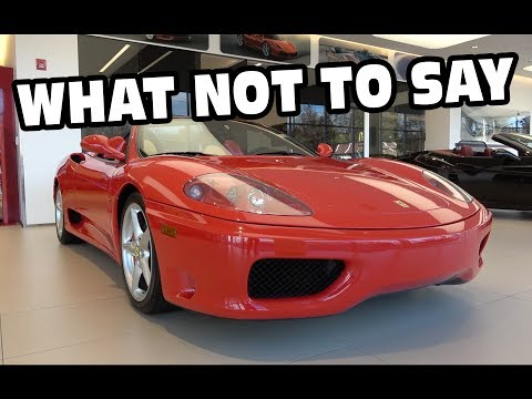 How To Test Drive A Ferrari? - It's Logical
