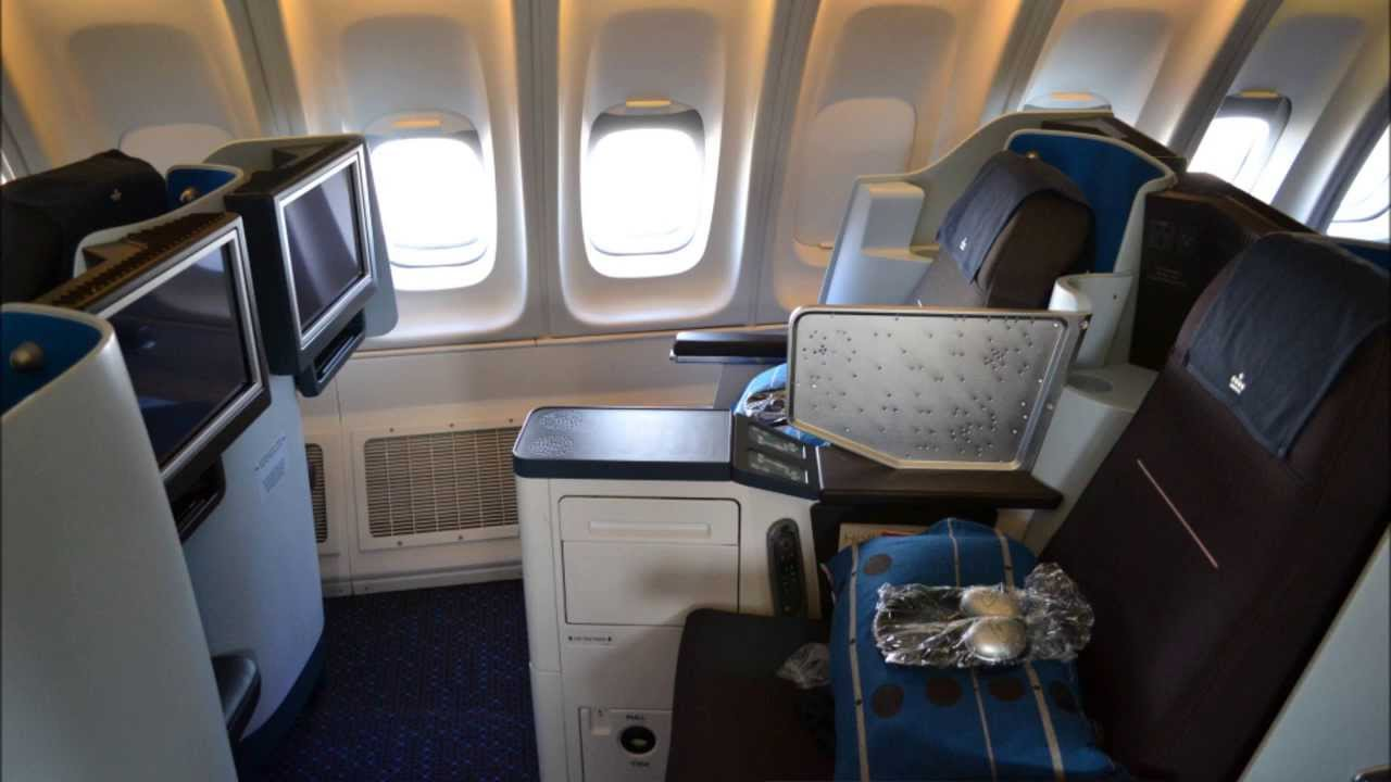 Klm Business Class Lie Flat Seat Review Youtube