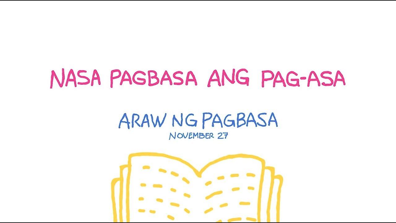 essay about nasa pagbasa ang pagasa