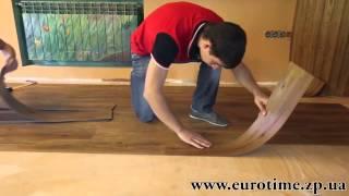 Укладка виниловой плитки. Часть 2(Укладка виниловой плитки. Как уложить виниловую плитку. Процесс работ. Как клеить виниловую плитку. Подробн..., 2013-08-25T21:17:55.000Z)