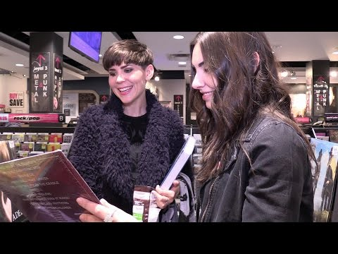 Interview and HMV Shopping Spree with Kaylee Johnston