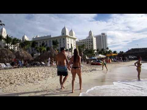 PALM BEACH Cruise Port ARUBA