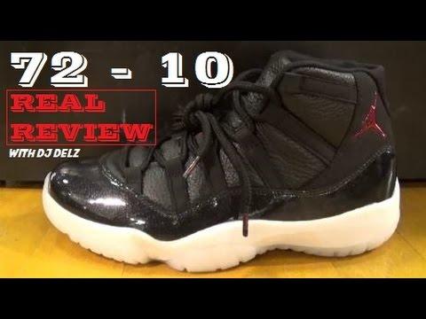 Air Jordan 11 72 10 Sneaker REAL REVIEW + On Feet
