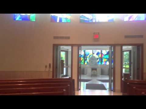 Saint Paul's RC church, Greenwich, Connecticut, USA - interior.