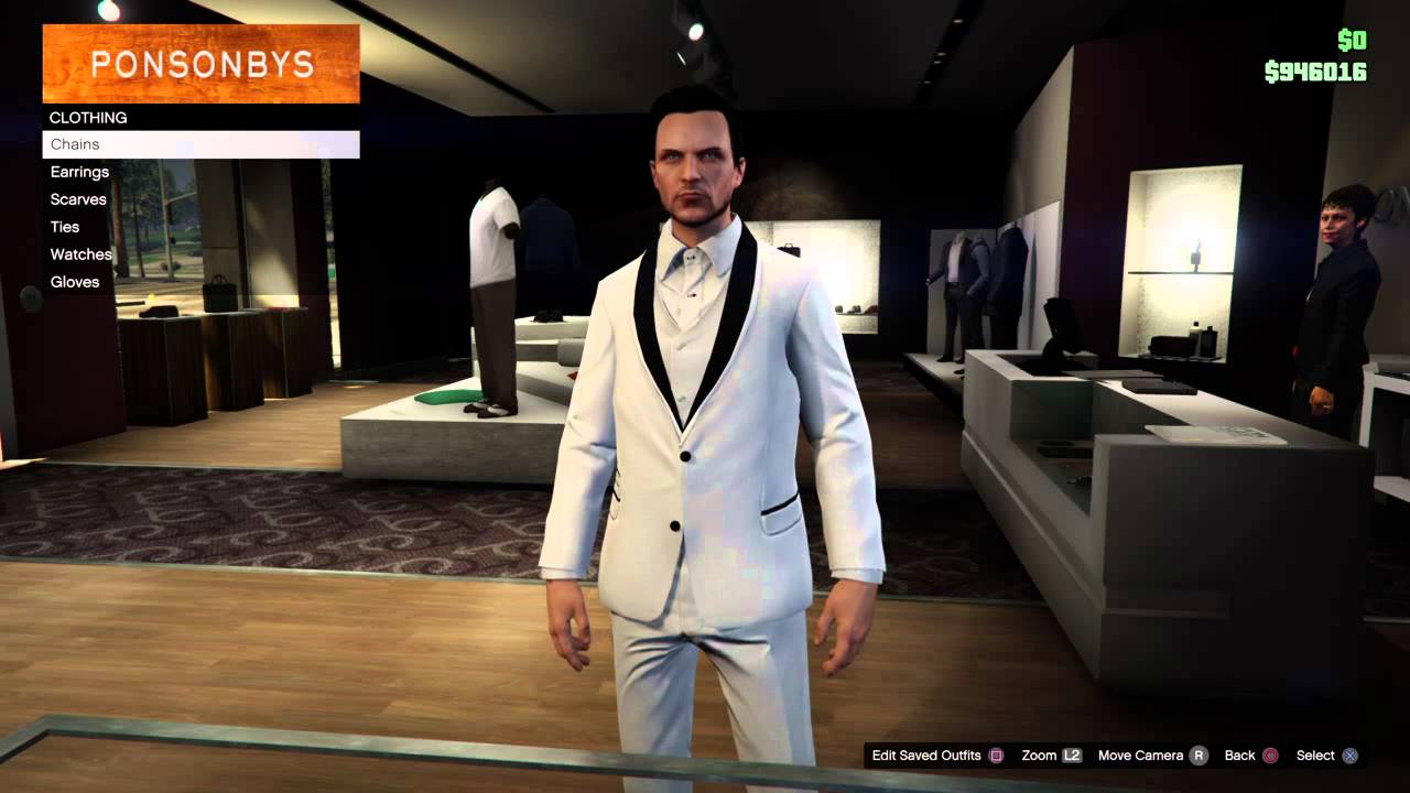Grand Theft Auto 5 Online 21 Jump Street Prom Tuxedo suit outfit tutorial -  YouTube