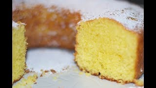 "Tuscan Pound Cake ""Ciambellone"" Recipe - How to Cook Real Italian Food from my Italian Kitchen"