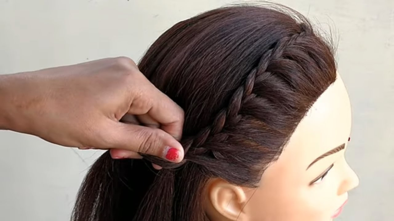 Easy Ponytail Hairstyle For short hair || Hairstyles || Hair styles girl || easy  ponytail hairstyle