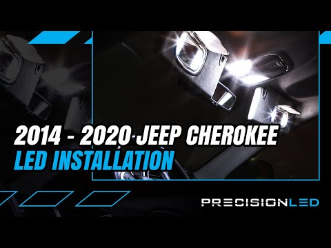 Jeep Cherokee LED Interior How To Install – 4th Gen   2014 – 2020
