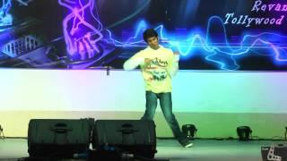 Rahul Roy dance at cvsr college