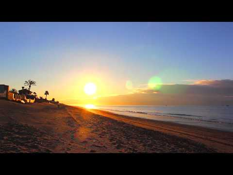 ☀BEAUTIFUL OCEAN SUNRISE IN SPAIN☀ FULL HD