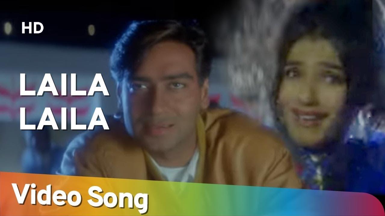 Download Laila Laila (HD)   Gair (1999)   Ajay Devgn   Raveena Tandon   Amrish Puri  Hindi Dance Song