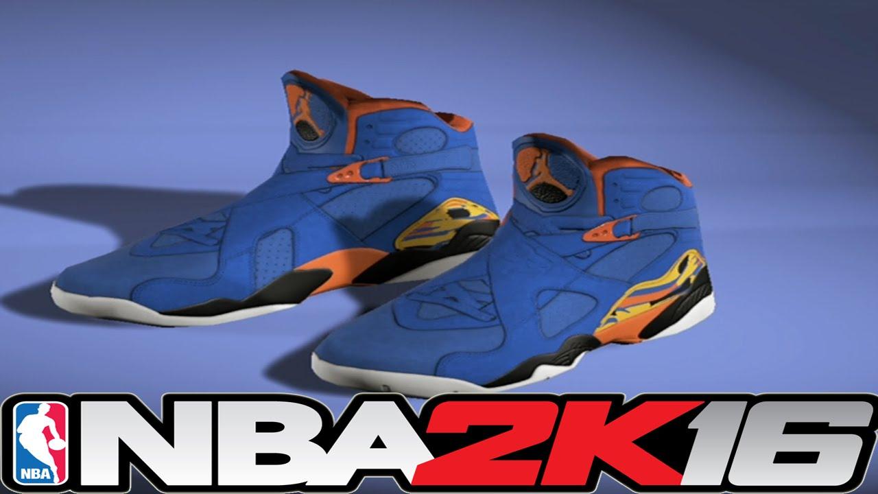a8e82c67b72386 NBA 2K16 Shoe Creator - Jordan 8 Doernbecher ⋆ NBA2K16⋆ - YouTube