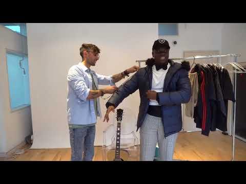 Big Shaq tuxedo fitting for royal wedding 👰👑