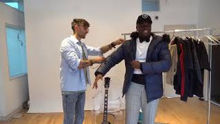 Big Shaq tuxedo fitting for royal wedding 👰👑
