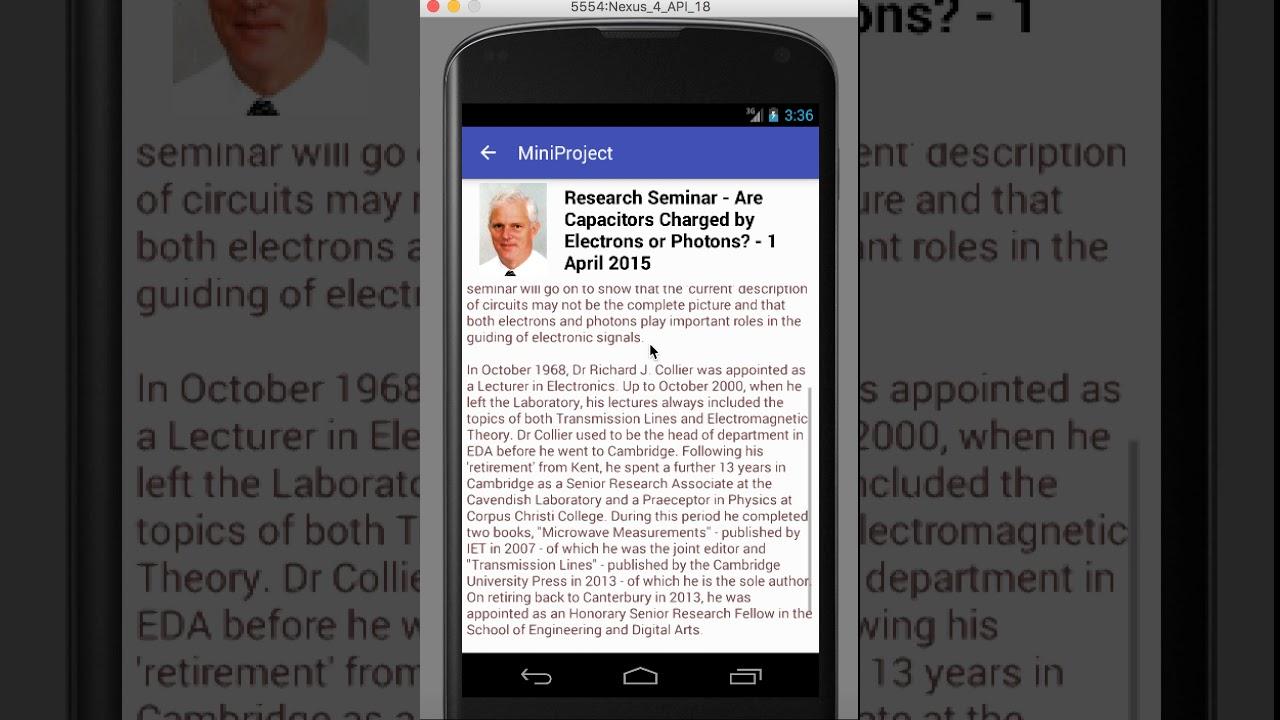 News reader - Android App