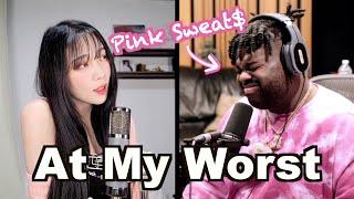 [#핑크듀엣츠] Pink Sweat$ 와 듀엣!! 'At My Worst' ♥