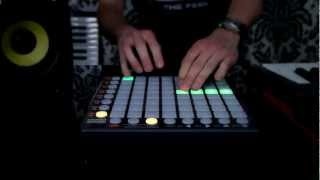 "Novation // Launchpad S ""KillTheRobot"" performance"