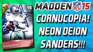 Madden 15 Ultimate Team - CORNUCOPIA PACK! DEION SANDERS? THANKSGIVING PACK!- MUT 15