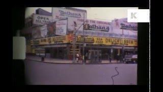 1977 New York, Midtown, 1970s Home Movies