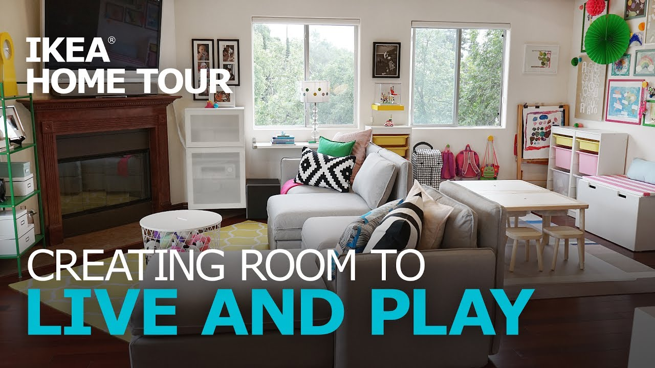 Kid-Friendly Living Room Ideas - IKEA Home Tour (Episode 307) - YouTube