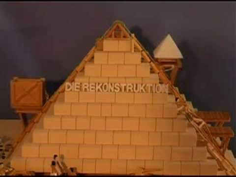 die rekonstruktion der gyptischen pyramiden youtube. Black Bedroom Furniture Sets. Home Design Ideas