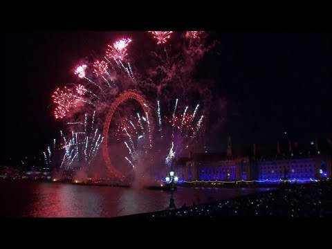 New Year 2018: celebrations around the world