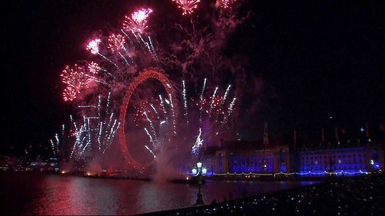 new year 2018 celebrations around the world
