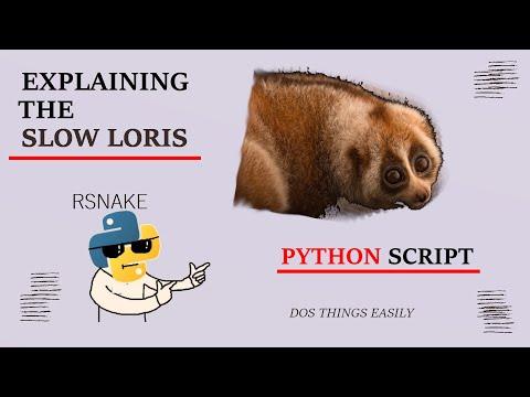 Explaining The Slowloris Python Script - Simplified