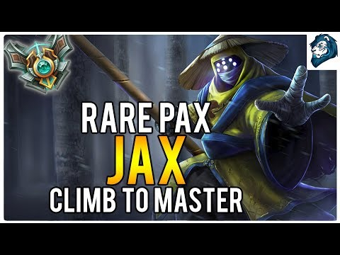 RARE PAX JAX - Climb to Masters | League of Legends