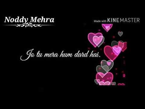 Jo Tu Mera Hum Dard Hai _Noddy Mehra