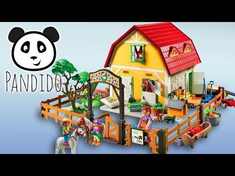 ⭕ Playmobil Ponyhof - Ausgepackt Und Angespielt - Pandido TV