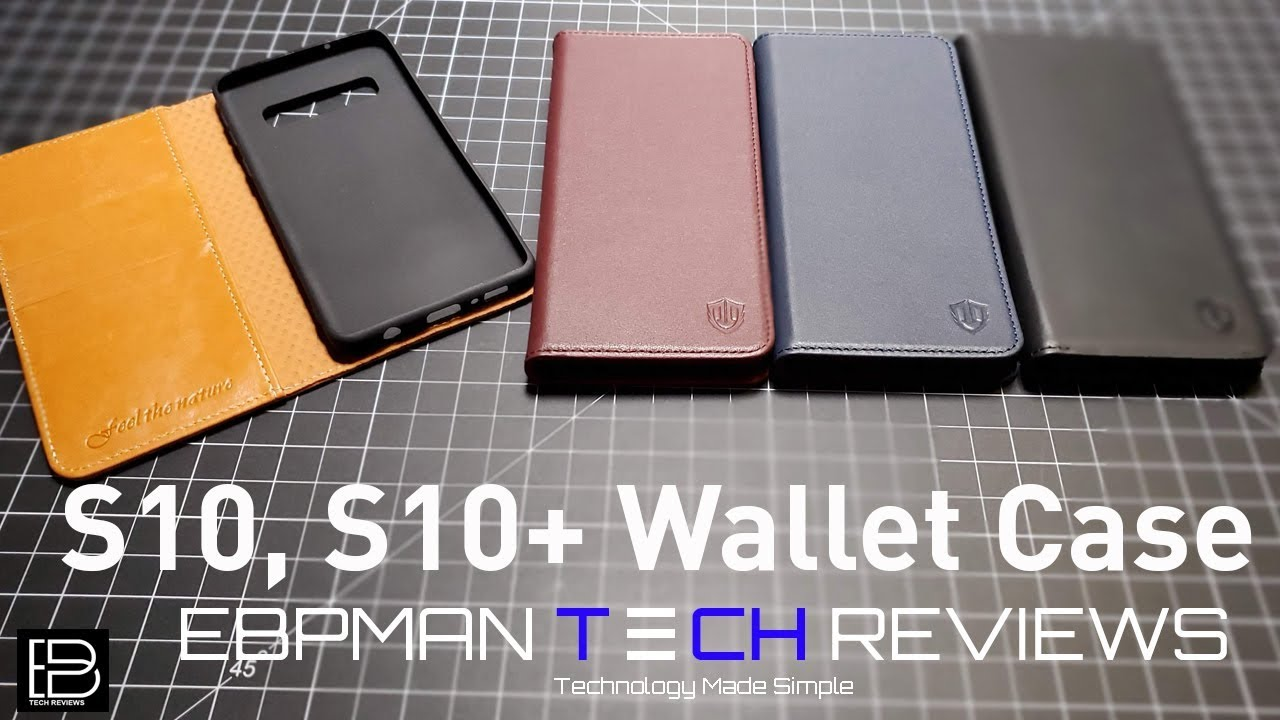 d839c4c32 Samsung Galaxy S10 & S10 Plus Wallet Cases from Shieldon - YouTube