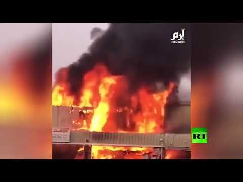 شاهد.. حريق كبير في أحد أسواق عجمان  - نشر قبل 3 ساعة