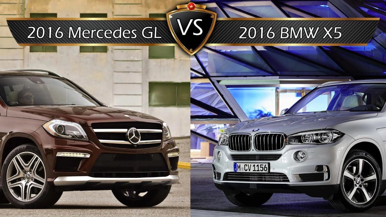 2016 Mercedes GL vs BMW X5  By the Numbers  YouTube