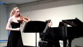 1.Sonata in C minor for Violin and Piano, Op. 30 No. 2 - Beethoven Allegro con brio.wmv