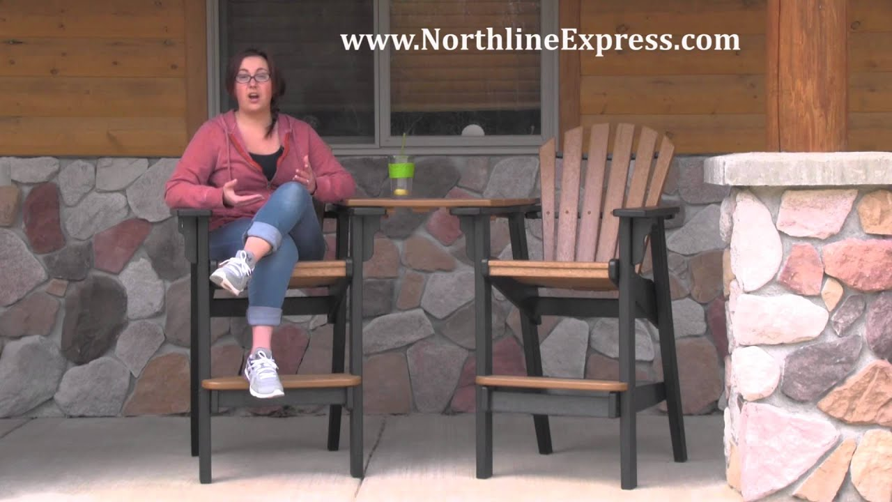 Breezesta Maintenance Free Patio Furniture   Tete A Tete Table Top