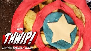 The Cap-Apple Pie on THWIP! The Big Marvel Show!
