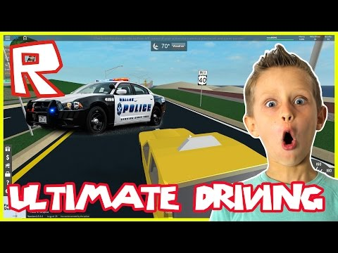 Ultimate Driving ODESSA - CAUGHT BY POLICE | Roblox