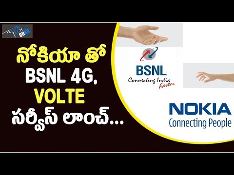 BSNL Selects Nokia To Launch 4G Service In 10 Circles - Telugu Tech Guru